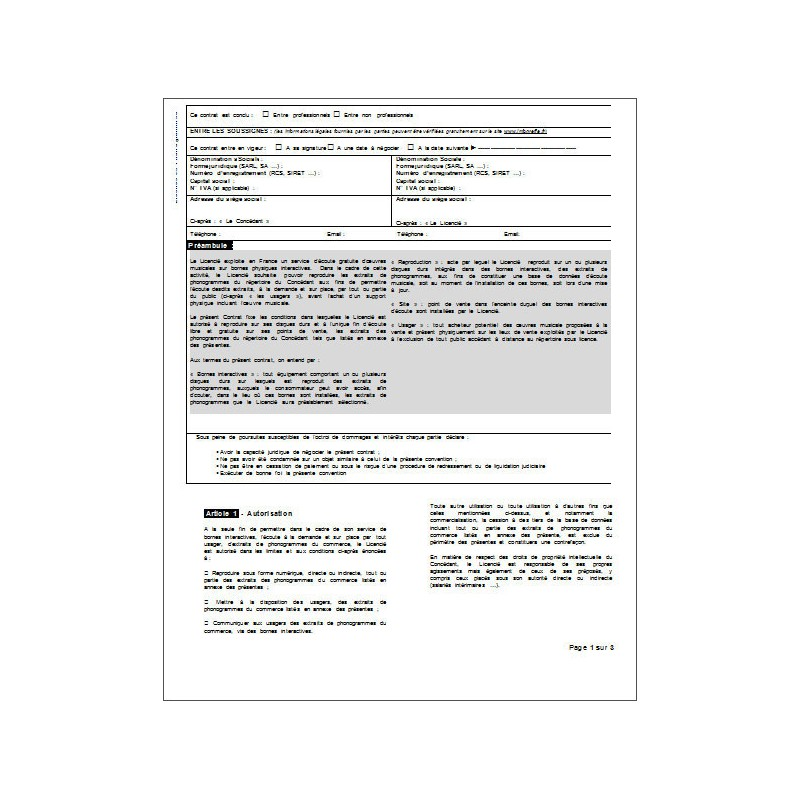 Convention de rupture n oci contrat de travail for Exemple contrat entretien espaces verts