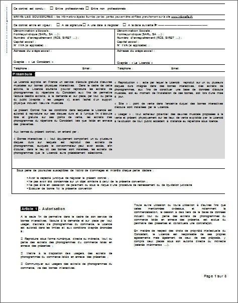 Contrat D Apporteur D Affaires