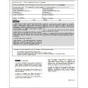 D馗laration sur l'honneur - Prestation compensatoire