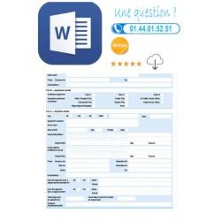 Contrat d'employé aux écritures