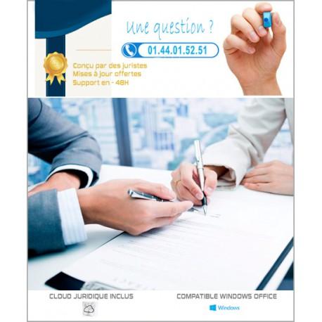 Statuts de SARL d'Agence immobilière